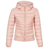 material Women Duffel coats Only ONLTAHOE Pink