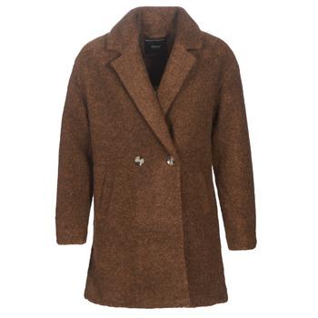 material Women coats Only ONLNINA Brown