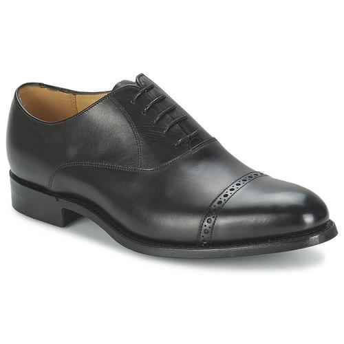 Shoes Men Brogue shoes Barker BURFORD Black