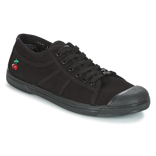 Shoes Women Low top trainers Le Temps des Cerises BASIC 02 MONO Black