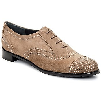 Shoes Women Brogue shoes Stuart Weitzman DERBY BEIGE