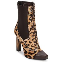 Shoes Women Ankle boots Roberto Cavalli SPS769 Brown