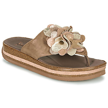 Shoes Women Flip flops Think ZEGA Beige