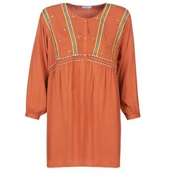 material Women Short Dresses Betty London LOULIA Orange