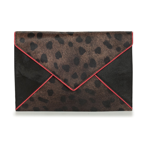 Bags Women Shoulder bags Heimstone ROXEN Black / Pink