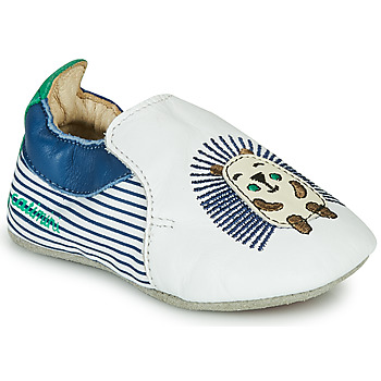Shoes Boy Slippers Catimini COFFI White / Blue / Green