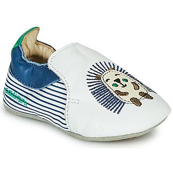 Shoes Boy Slippers Catimini COFFI White / Blue / Green