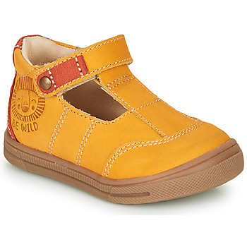 Shoes Boy Low top trainers GBB ARENI Orange
