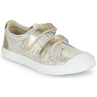 Shoes Girl Low top trainers GBB NOELLA White / Gold