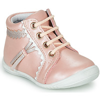 Shoes Girl High top trainers GBB ACINTA Pink