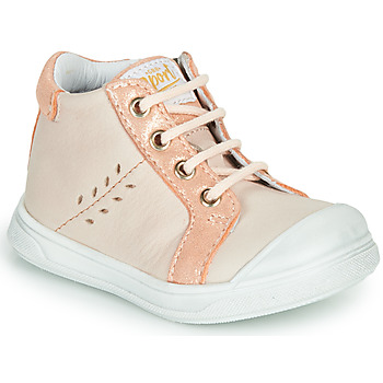 Shoes Girl High top trainers GBB AGAPE Beige