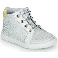 Shoes Girl High top trainers GBB FAMIA Silver