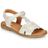 Shoes Girl Sandals GBB FARENA Ctv / Printed / Gold / Dpf / 2794