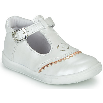 Shoes Girl Ballerinas GBB AGENOR White