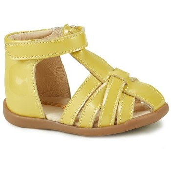 Shoes Girl Sandals GBB AGRIPINE Yellow