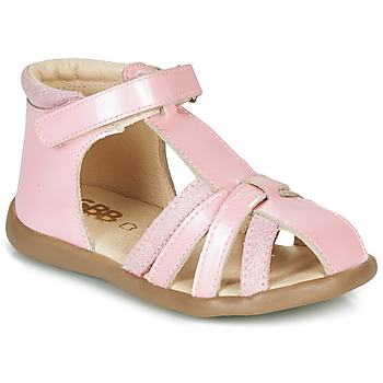 Shoes Girl Sandals GBB AGRIPINE Pink