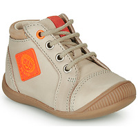 Shoes Boy High top trainers GBB TARAVI Beige