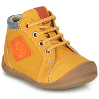 Shoes Boy High top trainers GBB TARAVI Orange