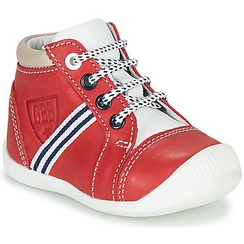 Shoes Boy High top trainers GBB GABRI Red