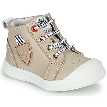 Shoes Boy High top trainers GBB GREGOR Beige