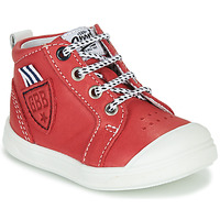 Shoes Boy High top trainers GBB GREGOR Red