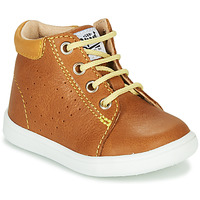 Shoes Boy High top trainers GBB FOLLIO Vte / Camel / Dpf / Messi