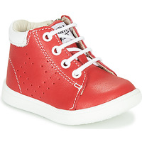 Shoes Boy High top trainers GBB FOLLIO Red