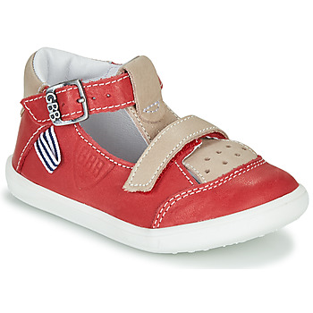 Shoes Boy High top trainers GBB BERETO Red