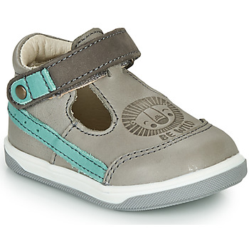 Shoes Boy High top trainers GBB ANGOR Grey