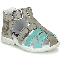 Shoes Boy Sandals GBB BORETTI Vte / Grey / Dpf / Filou