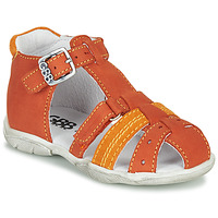 Shoes Boy Sandals GBB ARIGO Orange