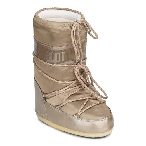 Shoes Women Snow boots Moon Boot MOON BOOT GLANCE Platinum