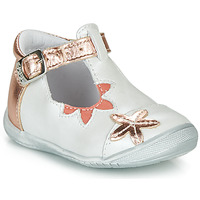 Shoes Girl Ballerinas GBB ANAXI White