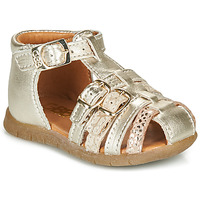 Shoes Girl Sandals GBB PERLE Gold