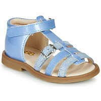 Shoes Girl Sandals GBB ANTIGA Blue / Dpf / 2794