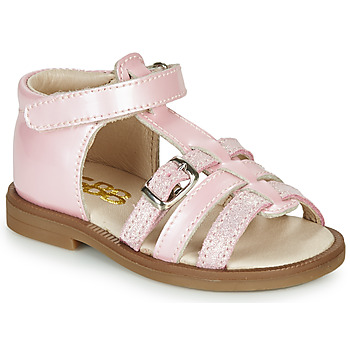 Shoes Girl Sandals GBB ANTIGA Pink / Dpf / 2794