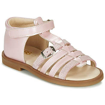 Shoes Girl Sandals GBB ANTIGA Pink