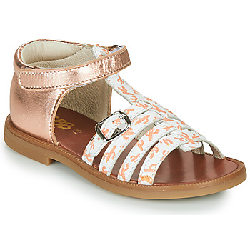 Shoes Girl Sandals GBB PHILIPPINE Pink / Gold