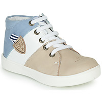 Shoes Boy High top trainers GBB AMOS Beige / White / Blue