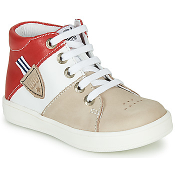 Shoes Boy High top trainers GBB AMOS Red