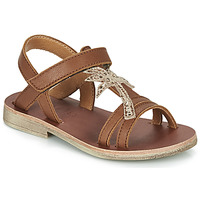Shoes Girl Sandals GBB SAPELA Brown