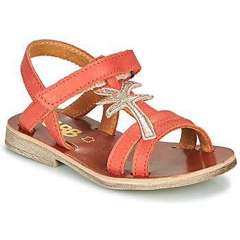 Shoes Girl Sandals GBB SAPELA Coral