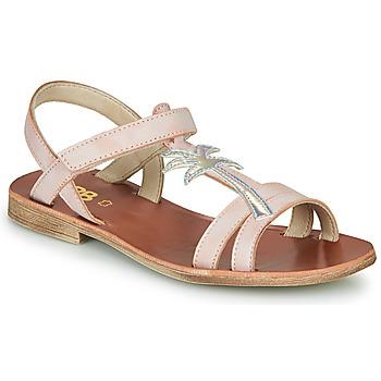Shoes Girl Sandals GBB SAPELA Pink