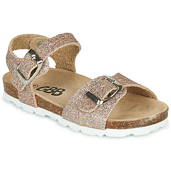 Shoes Girl Sandals GBB PIPPA Pink / Gold