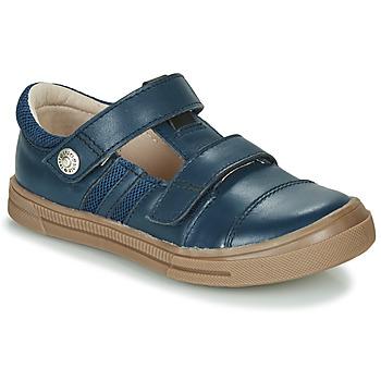Shoes Boy Low top trainers GBB MANUK Blue