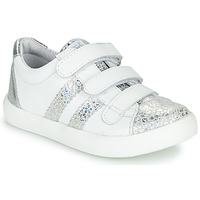 Shoes Girl Low top trainers GBB MADO Silver