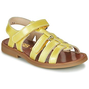 Shoes Girl Sandals GBB KATAGAMI Yellow