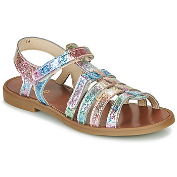 Shoes Girl Sandals GBB KATAGAMI Pink / Multicolour