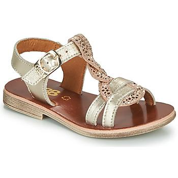 Shoes Girl Sandals GBB EUGENA Gold