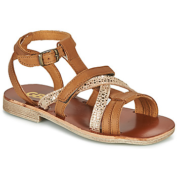 Shoes Girl Sandals GBB JULIA Brown